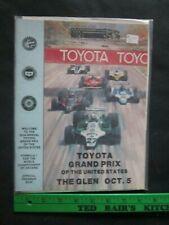 Watkins Glen Formula One Motor Racing Program 1980 - Vintage