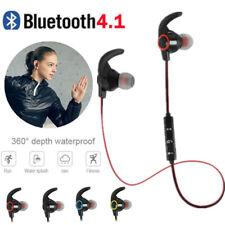 Wireless Bluetooth 4.1 Earphone Headphone Sports Earbuds In-Ear Headset with Mic