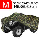 Medium Camo ATV Cover Waterproof UV Outdoor Storage For Kawasaki KFX 50 80 90