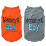 Pet Dog Vest Mommy's Boy Small Dog Cat T-Shirt Puppy Summer Clothes Coat Outfit