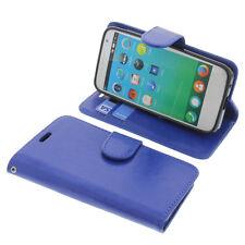 Funda para Alcatel One Touch Fire E Book Style Protectora de Móvil Azul