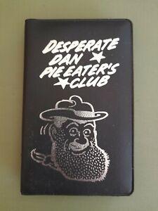 Retro Desperate Dan Fan Club Wallet And Badges Beano Dandy