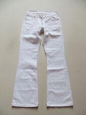 Levi's® 529 Bootcut Jeans Hose, W 28 /L 30, Weiß ! White Denim mit Stretch ! 36