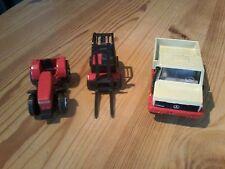 xpx   3x kleine Siku Traktor, Gabelstapler Unimog, bitte anschauen und lesen