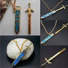 Legend of Zelda Removable Master Sword Necklace Pendant With Gift