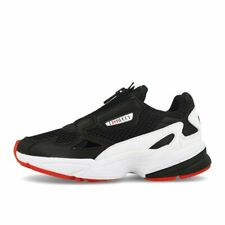 adidas x Fiorucci Falcon Zip W Black White Red Schuhe Sneaker Schwarz Weiß Rot