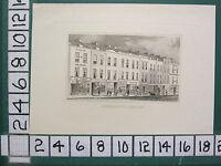c1830 ANTIQUE LONDON PRINT ~ VIEW OF SHOREDITCH