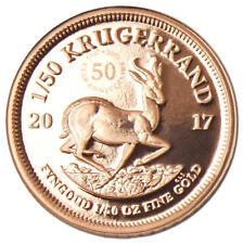 1/50 Unze Gold Proof PP Krügerrand 50 Jahre Südafrika 2017 South Africa