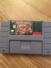 Donkey Kong Country- Super Nintendo Snes Game BB1