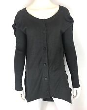 Vivienne Westwood Anglomania Draped Cardigan Sweater Gray Wool Size S/M ?