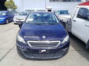 PEUGEOT 308 2016 VEHICLE WRECKING PARTS ## V000832 ##