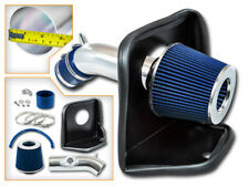 BCP BLUE 2014-2017 Mazda3 Mazda6 Heat Shield Cold Air Intake Kit +Filter