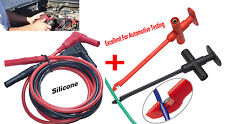 No damage puncture Silicone cable test hook Insulation-Piercing Hook Multimeter