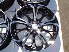 17 5x114.3 5x100 Black Wheels Fits Mazda 3 6 Camry Cavalier Prelude 5 Lug Rims