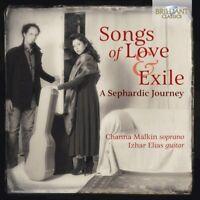 A SEPHERDIC JOURNEY SONGS OF LOVE & EXILE - MALKIN,CHANNA/ELIAS,IZHAR   CD NEW+