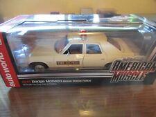 1/18 Illinois State Police 1974 Dodge Monaco Model NON-WORKING Custom Lightbar