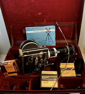 BOLEX H16 REFLEX WITH VARIO SWITAR 18-86mm f2.5 W/Case-Film-Grip-Filters-Manual