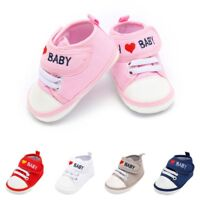 Newborn Infant Boys Girls Sneakers Baby Anti-slip Soft Sole Casual Outdoor Shoes