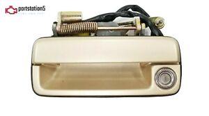 86-89 ACURA LEGEND 2DR COUPE DRIVER LEFT EXTERIOR DOOR HANDLE  GOLD METALLIC OEM