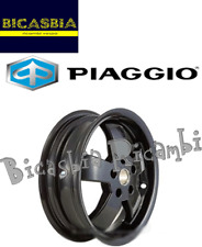 1C00286000090 ORIGINALE PIAGGIO CERCHIO POSTERIORE NERO VESPA 125 300 GTS 14-17