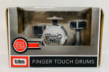 NEW TOTES Finger Touch Mini Drums Set Games & Novelty Create Beats & Play Back