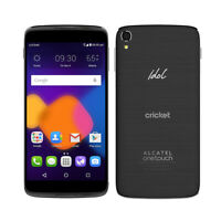 Cricket Wireless - Alcatel OneTouch Idol 3 6045O 4G LTE Android Smartphone