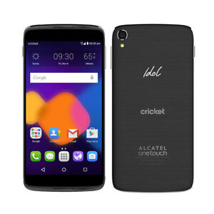 Cricket - Alcatel OneTouch Idol 3 6045O 4G LTE Android Smartphone