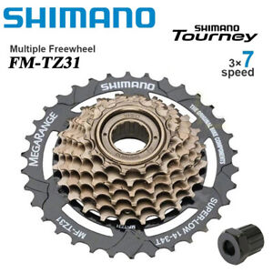 Shimano Tourney MF-TZ31-7 Speed MTB Bike Bicycle Freewheel 14-34T Screw-On
