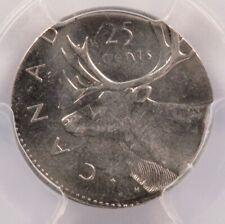 Canada PCGS 25c Quarter on Dime Planchet MS64