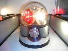 🚨 FEDERAL SIGNAL ANTIQUE MODEL 176 RCRC LIGHT 🚨 • CLEAR GLASS DOME • RESTORED!