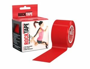 RockTape  Kinesiology tape 2-Inch X 16.4-Feet CrossFit  - RED  FREE SHIPPING