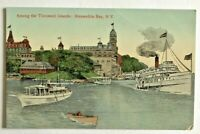 "Antique Postcard ""Among the Thousand Islands: Alexandria Bay, N.Y."" #102,110(JV)"