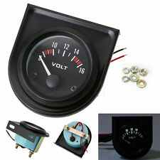 2'' 52mm Mechanical Car Auto Volt Voltmeter Voltage Meter Gauge LED 8-16V