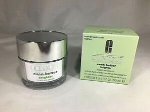 Clinique Even Better Brighter Moisture Cream For Uneven Skin Tone 1.7oz/50ml NIB