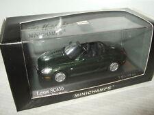 Coches, camiones y furgonetas de automodelismo y aeromodelismo MINICHAMPS Lexus escala 1:43
