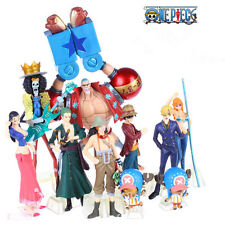 Anime One Piece Set Of 10pc Figure PVC Figures Set Luffy NAMI ZORO Toy Gift Doll