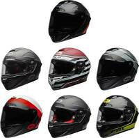 Bell Race Star Flex DLX Helmet - Full Face Motorcyle Street Riding Race Snell