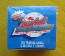 1987 FLEER CLASSIC MINIATURES BASEBALL SET, Factory-sealed 120 Cards