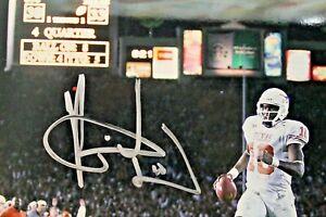 Vince Young Signed Texas Longhorns UT 2005 ROSE BOWL CHAMPS Autographed 8x10 JSA