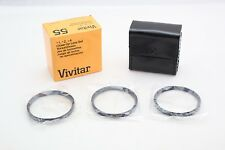Vivitar 55mm Close-Up Macro CloseUp SET Filters +1+2+4+ 55+New Old Stock+MINT