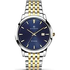 Accurist Mens Blue Dial Watch Blue Dial 7072