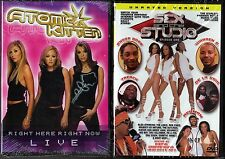 Atomic Kitten - Right Here Right Now Live & Sex And The Studio Ep.1 - 2 DVDs