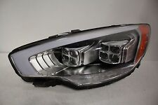 15 16 17 KIA K900 FULL LED HEADLIGHT LEFT DRIVER SIDE COMPLETE USED OEM NICE!
