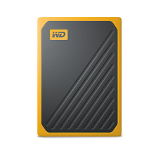 NEW WD 500GB My Passport Go Portable External SSD WDBMCG5000AYT-WESN in Yellow