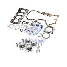 19mm 1.4TSI EA111 Engine Pistons Overhaul Repair Set Fit For VW Golf Jetta AUDI