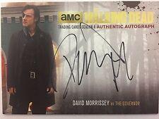 Walking Dead Season 4 PART 1 David Morrisey  - The Governor GOLD AUTOGRAPH DM2