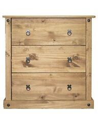 More than 200cm Pine Modern 3 Chests of Drawers
