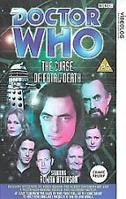Doctor Who - The Curse Of Fatal Death (VHS, 1999) Rowan Atkinson
