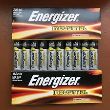 20 x Energizer AA Industrial Batteries LR6 Alkaline Long lasting 1.5 V  Battery