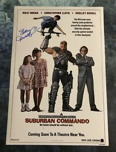 GFA Suburban Commando Movie SHELLEY DUVALL Signed 12x18 Photo PROOF COA